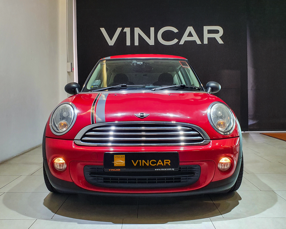 2011 MINI One 1.6A (New 10-yr COE) - Front Direct