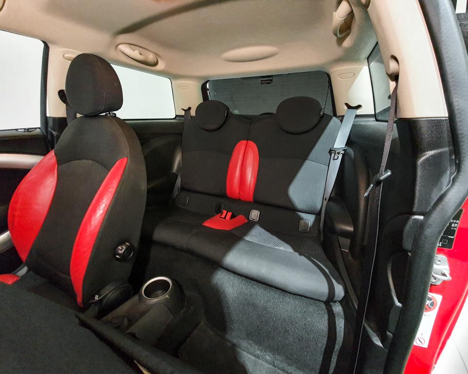 2011 MINI One 1.6A (New 10-yr COE) - Rear Seat