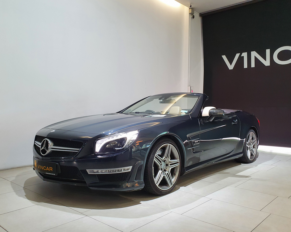 2013 Mercedes-Benz SL-Class SL63 AMG - Front Angle