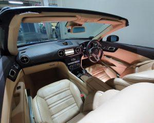 2013 Mercedes-Benz SL-Class SL63 AMG - Top View