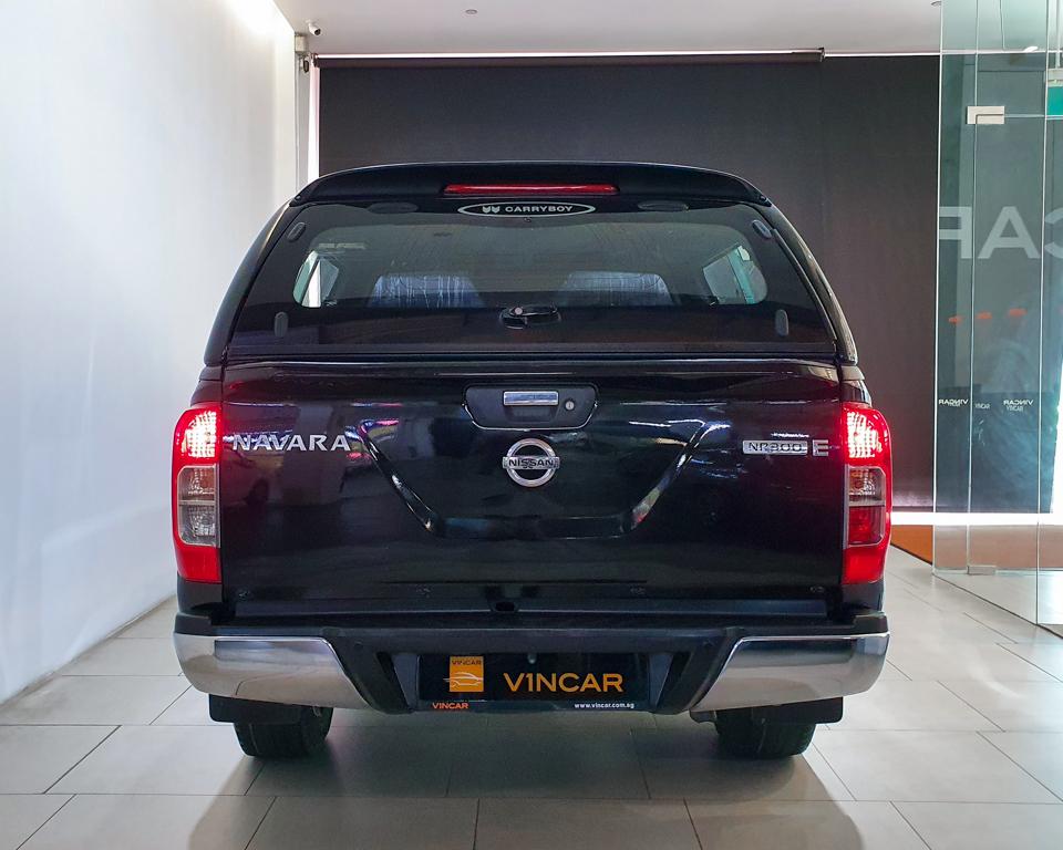 2016 Nissan Navara NP300 Double-Cab - Rear Direct