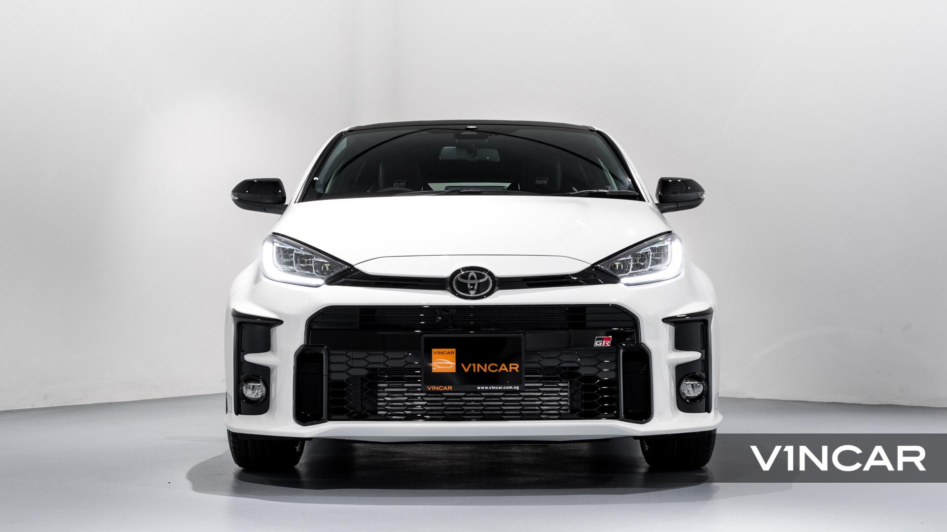 Toyota Yaris GR - Front