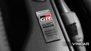 Toyota Yaris GR - 'GR-WRC' Badge