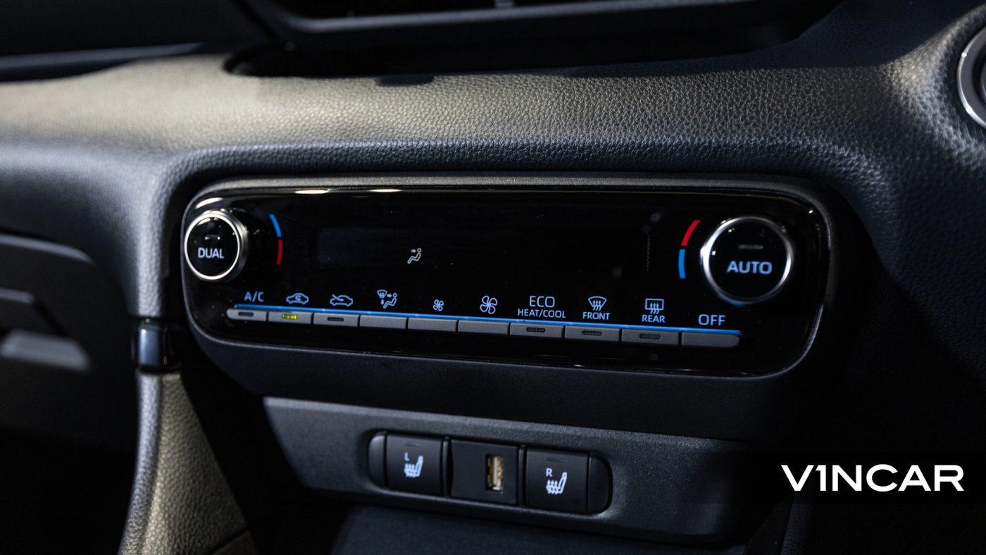 Toyota Yaris GR - HVAC System
