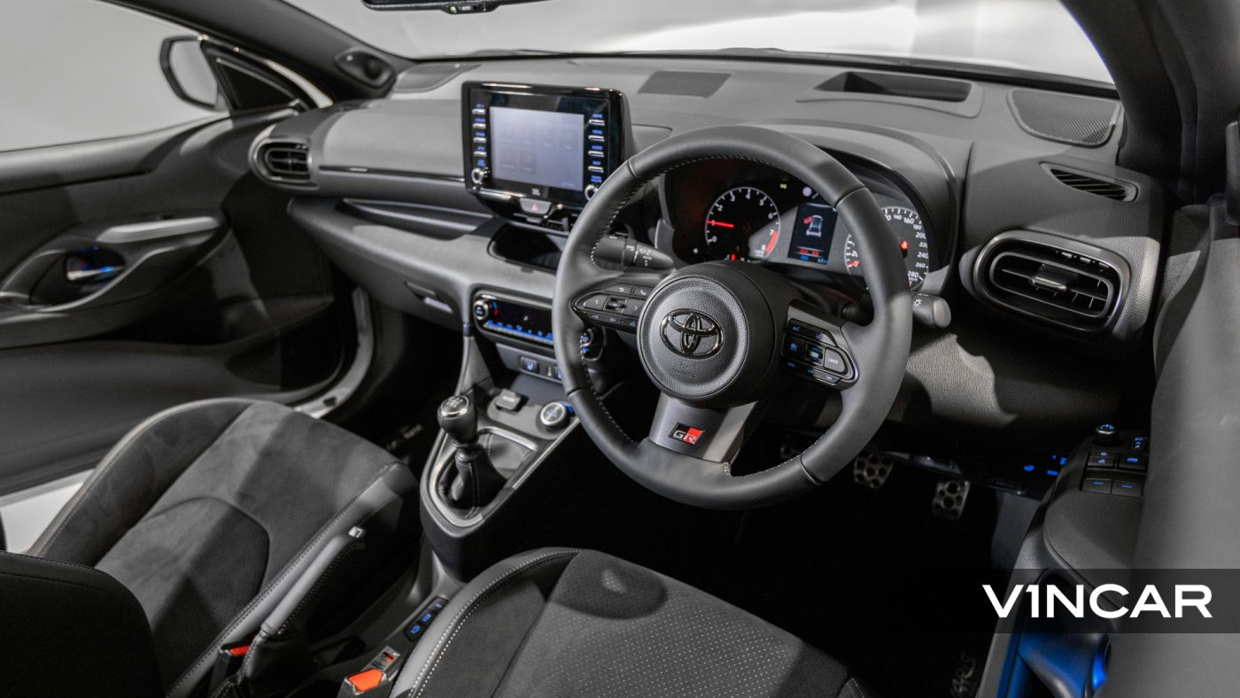 Toyota Yaris GR - Interior Dash