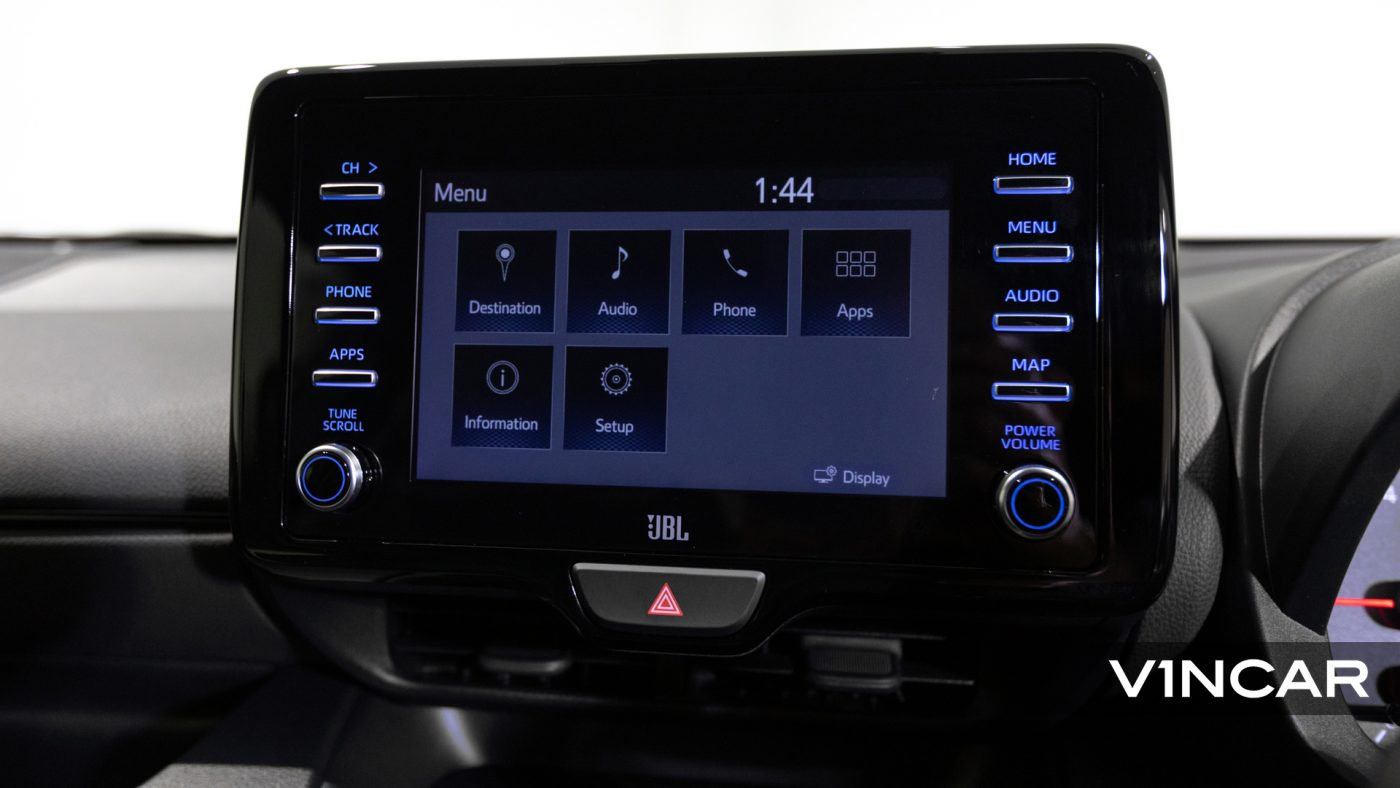 Toyota Yaris GR - Media Display
