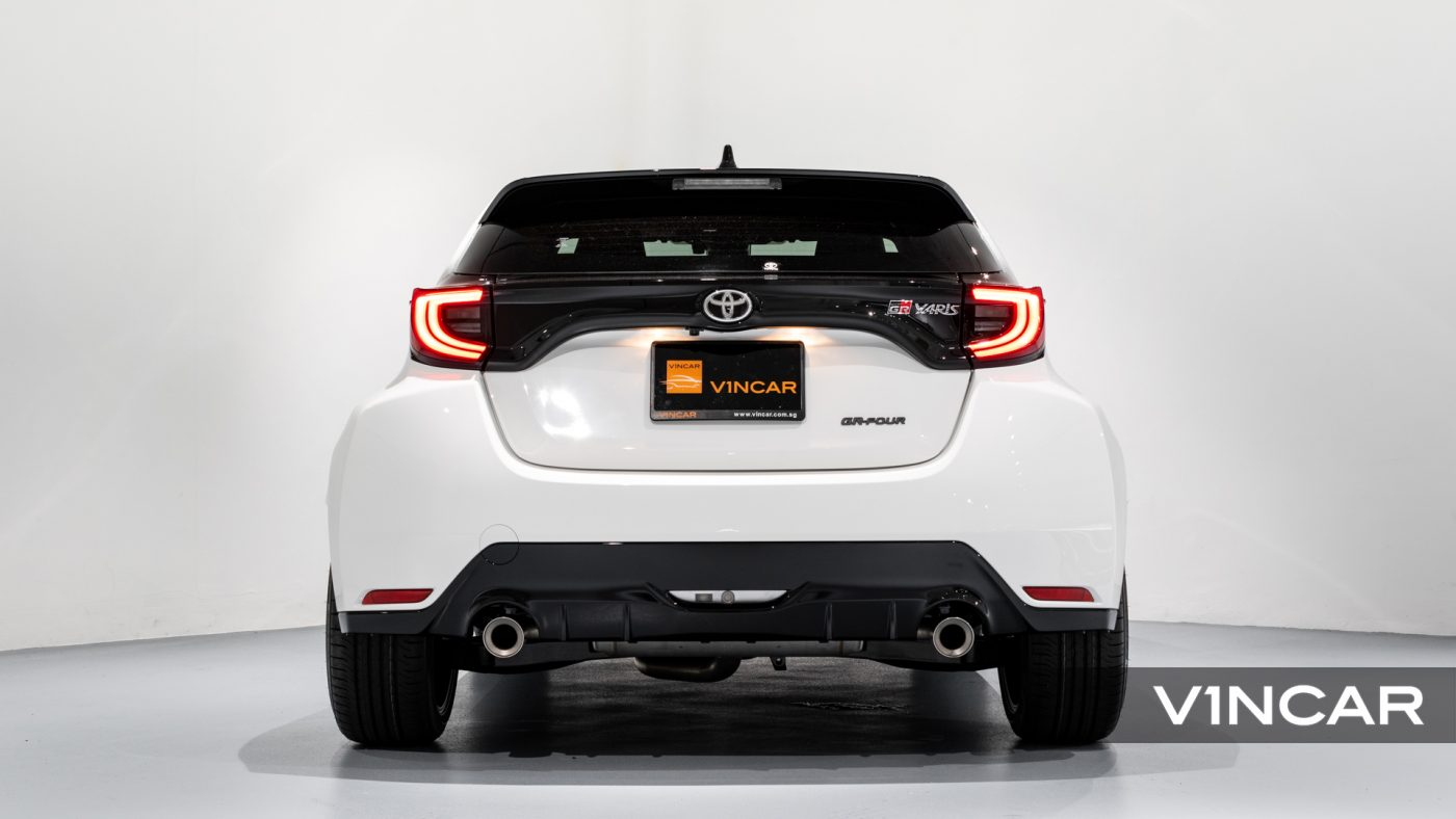 Toyota Yaris GR - Rear Direct
