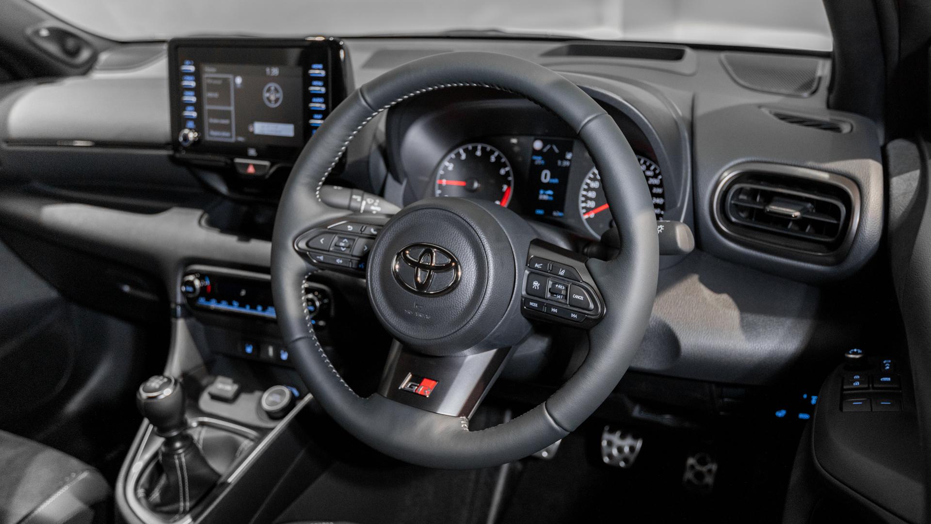 Toyota Yaris GR - Steering Wheel