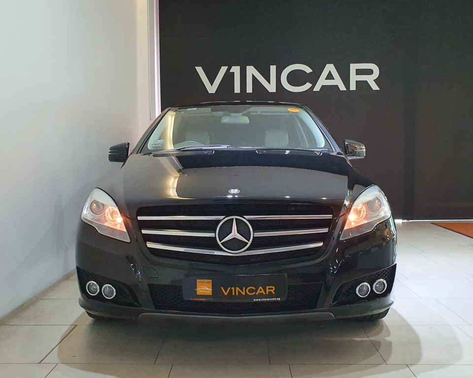 2011 Mercedes-Benz R-Class R350L (New 10-yr COE) - Front Direct