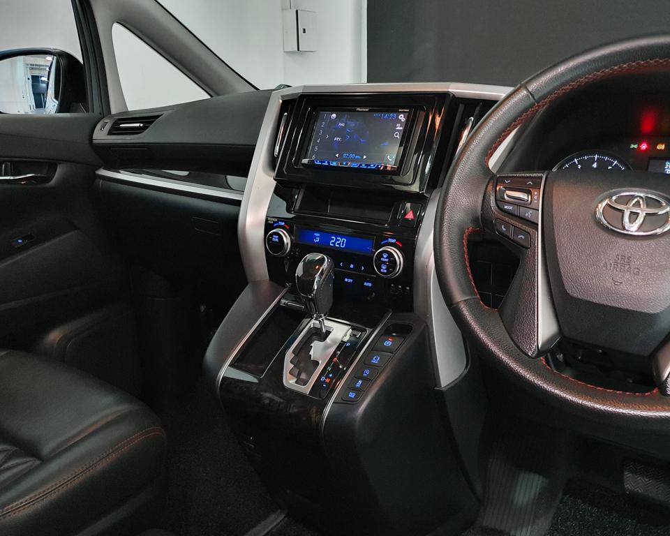 2015 Toyota Vellfire 2.5A Z - Centre Console