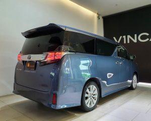 2015 Toyota Vellfire 2.5A Z - Rear Quarter Angle