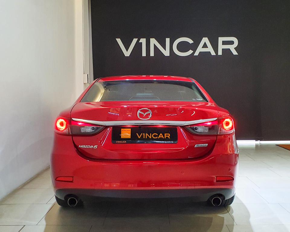 2016 Mazda 6 2.0A - Rear Direct