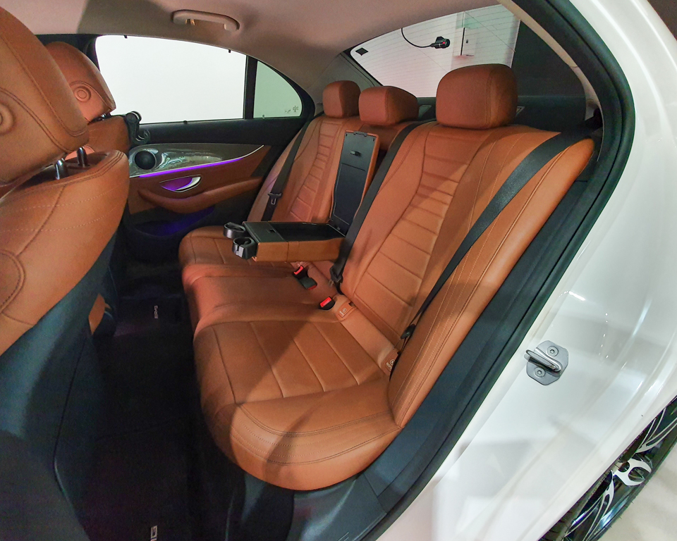 2016 Mercedes-Benz E-Class E200 AMG Line - Back Seat