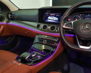 2016 Mercedes-Benz E-Class E200 AMG Line - Center Console