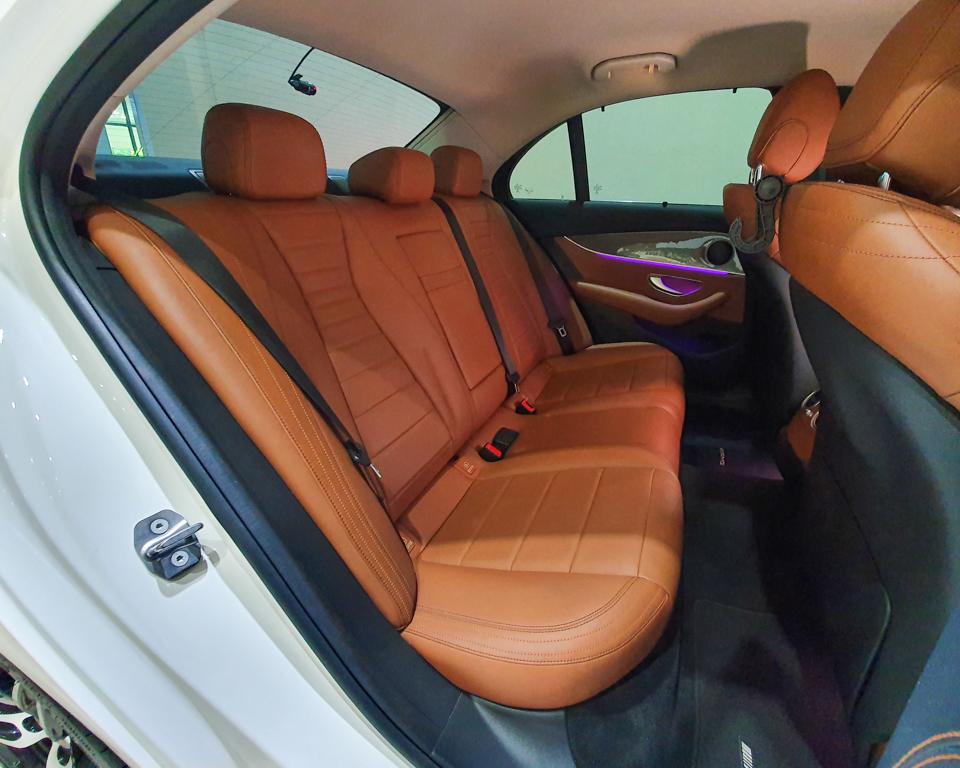2016 Mercedes-Benz E-Class E200 AMG Line - Rear Passenger Seat