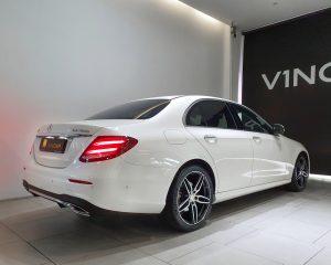 2016 Mercedes-Benz E-Class E200 AMG Line - Rear Quarter Angle