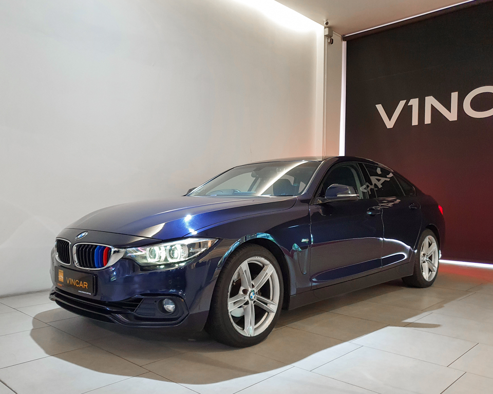 2017 BMW 4 Series 420i Gran Coupe - Front Angle