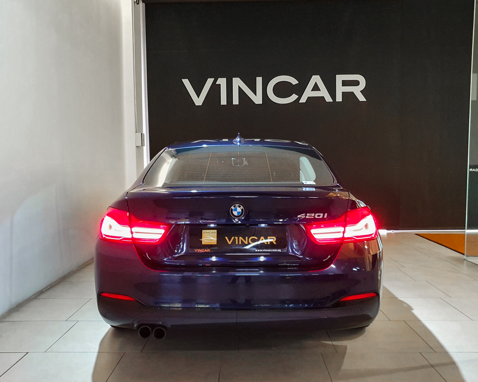2017 BMW 4 Series 420i Gran Coupe - Rear Direct