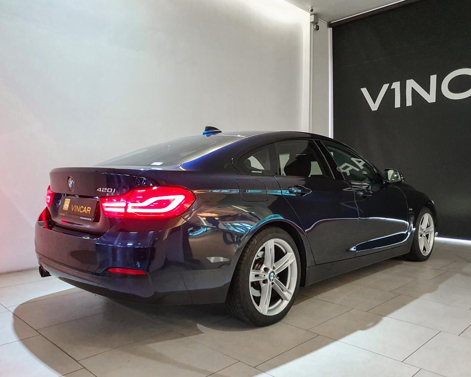 2017 BMW 4 Series 420i Gran Coupe - Rear Quarter Angle