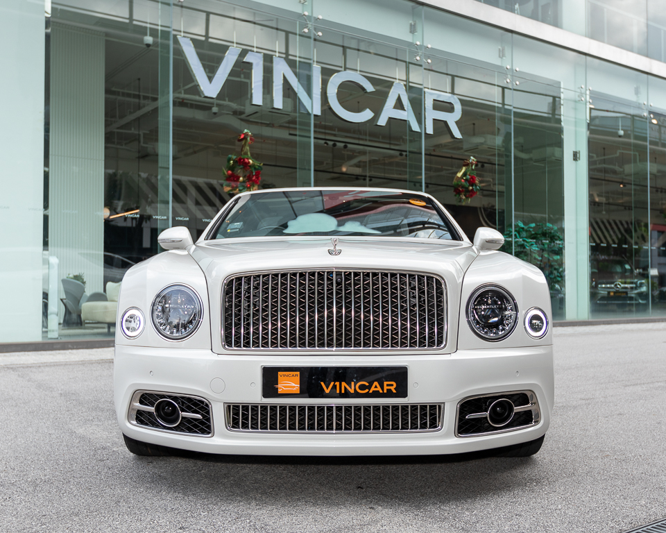 2017 Bentley Mulsanne 6.75A Speed - Front Direct