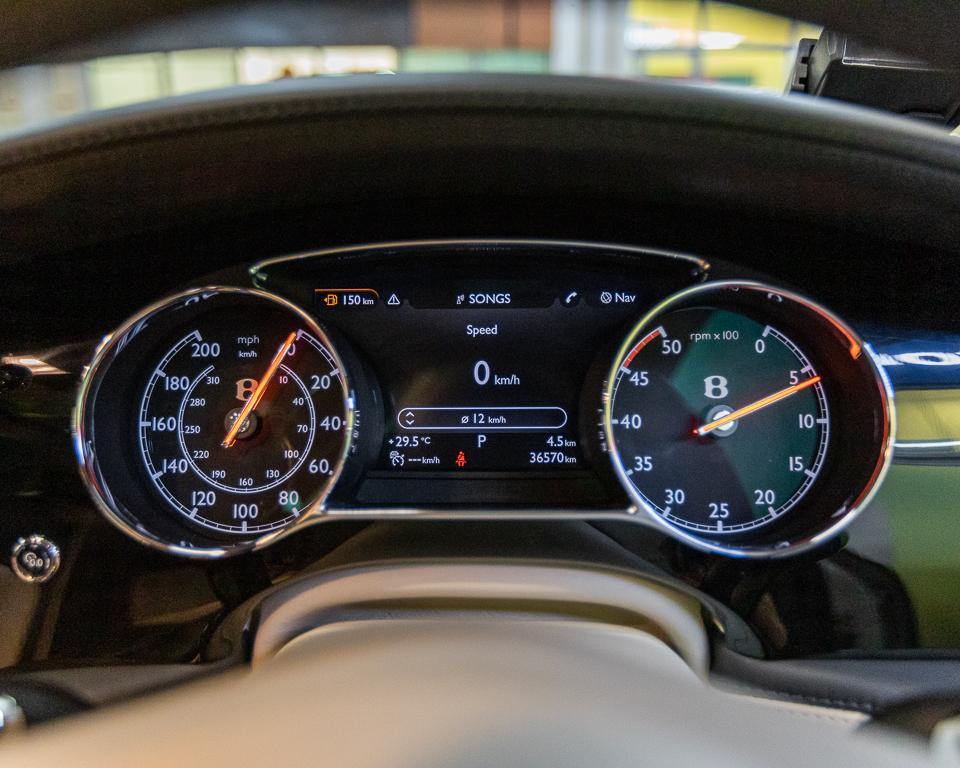 2017 Bentley Mulsanne 6.75A Speed - Meter