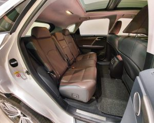 2017 Lexus RX Turbo RX200t Luxury Sunroof - Rear Seat