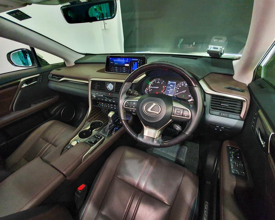 2017 Lexus RX Turbo RX200t Luxury Sunroof - Steering Wheel