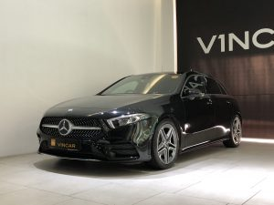 2018 Mercedes-Benz A-Class A200 AMG Line - Front Angle