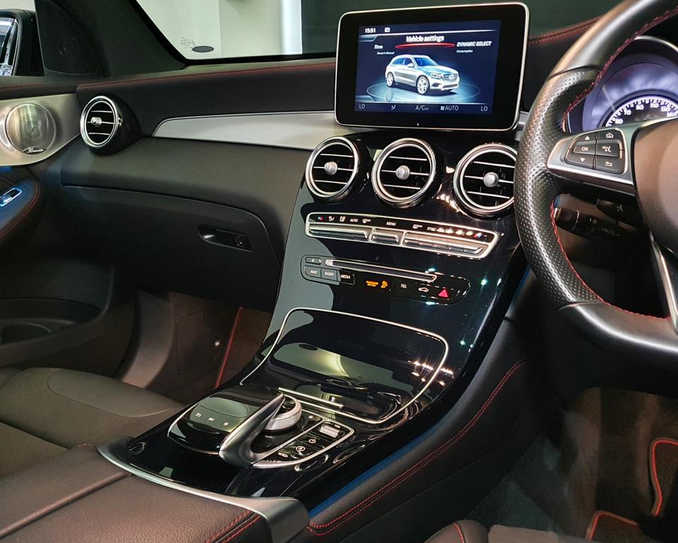 2018 Mercedes-Benz GLC-Class GLC43 AMG 4MATIC Premium Plus - Center Console