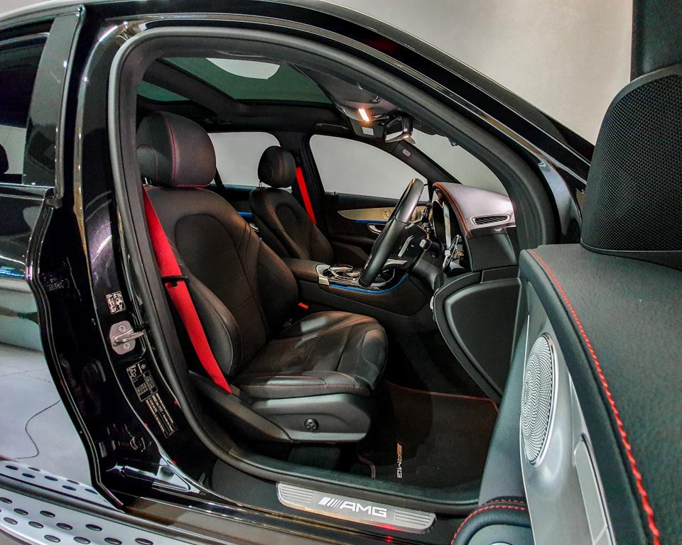 2018 Mercedes-Benz GLC-Class GLC43 AMG 4MATIC Premium Plus - Driver Seat