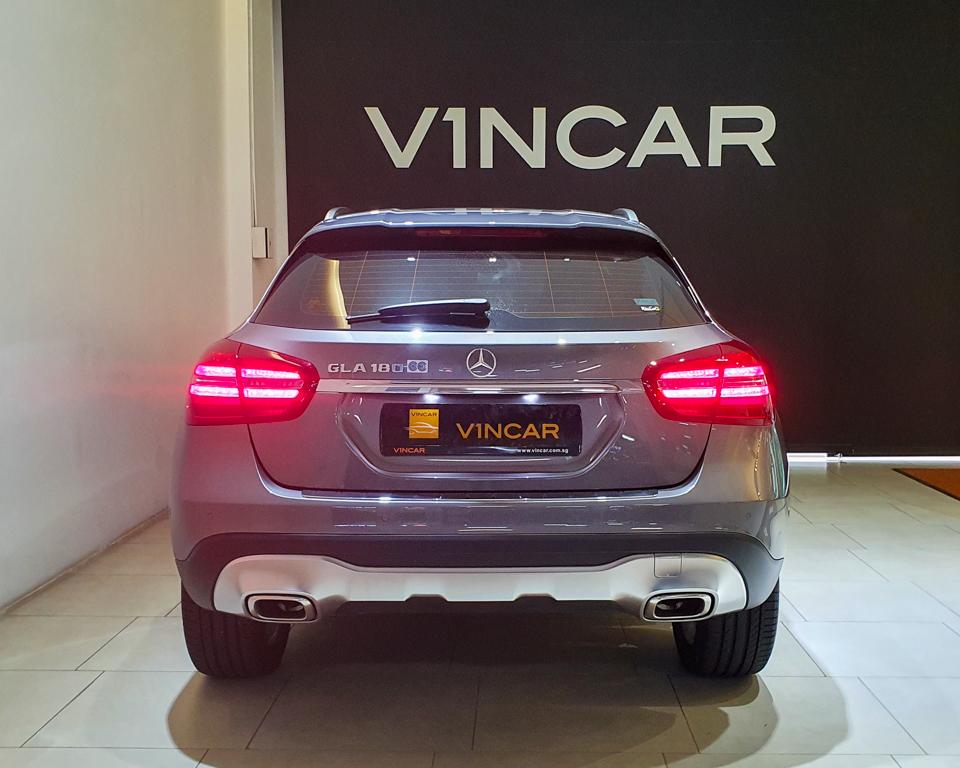 2020 Mercedes-Benz GLA-Class GLA180 Urban Edition - Rear Direct