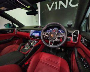 2020 Porsche Cayenne S Coupe 2.9A - Steering Wheel