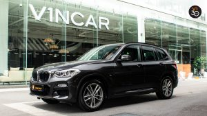 BMW X3 XDrive 2.0I M Sport - Side Profile