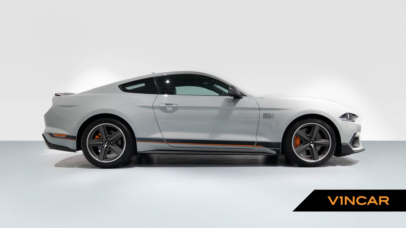 Ford Mustang 5.0 V8 Mach 1 Fastback - Rear Angle