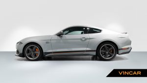 Ford Mustang 5.0 V8 Mach 1 Fastback - Side Profile