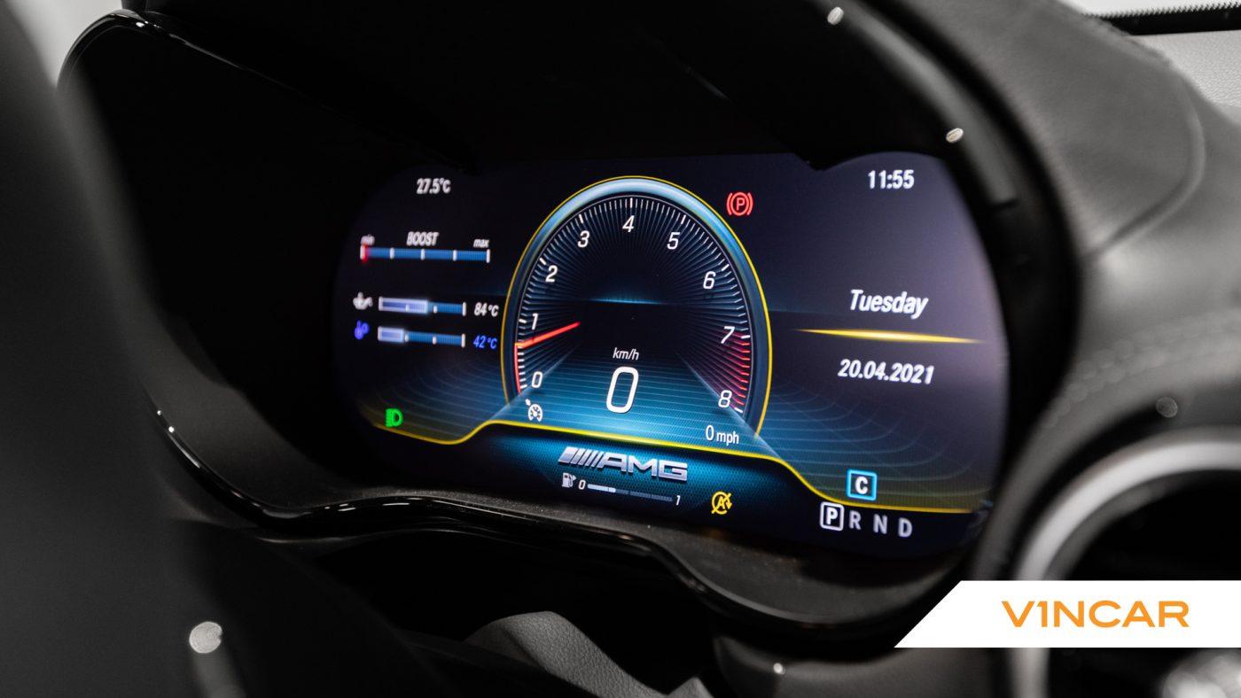 Mercedes-AMG GT R Pro Coupe - Digital Gauge