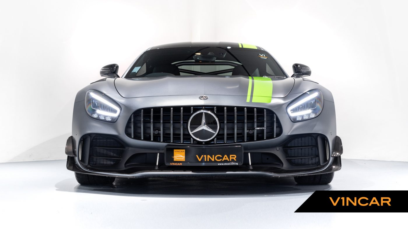 Mercedes-AMG GT R Pro Coupe - Front Direct