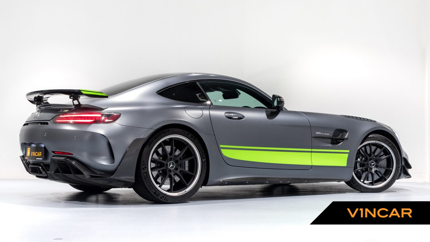 Mercedes-AMG GT R Pro Coupe - Rear Side Profile