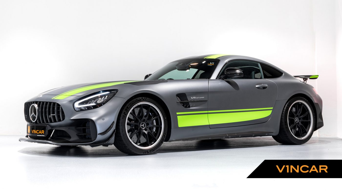 Mercedes-AMG GT R Pro Coupe - Side Profile