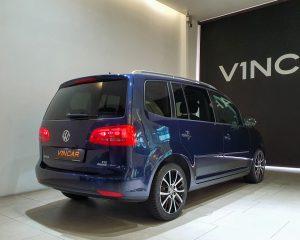 2014 Volkswagen Touran Diesel 1.6A TDI Sunroof - Rear Quarter Angle