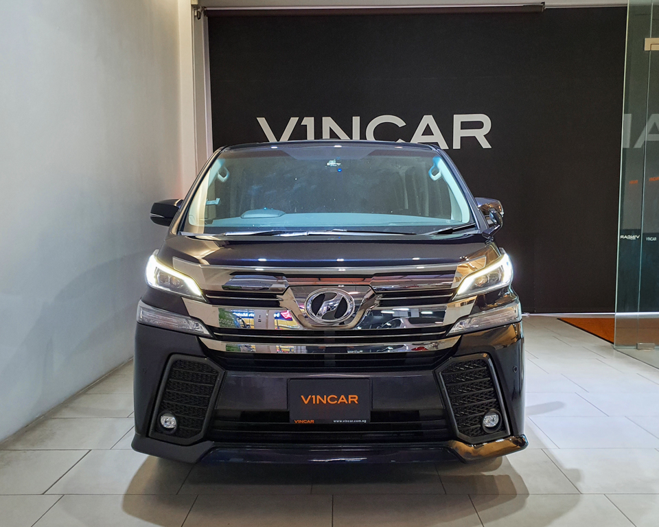 2015 Toyota Vellfire 2.5A Z G-Edition Moonroof - Front Direct