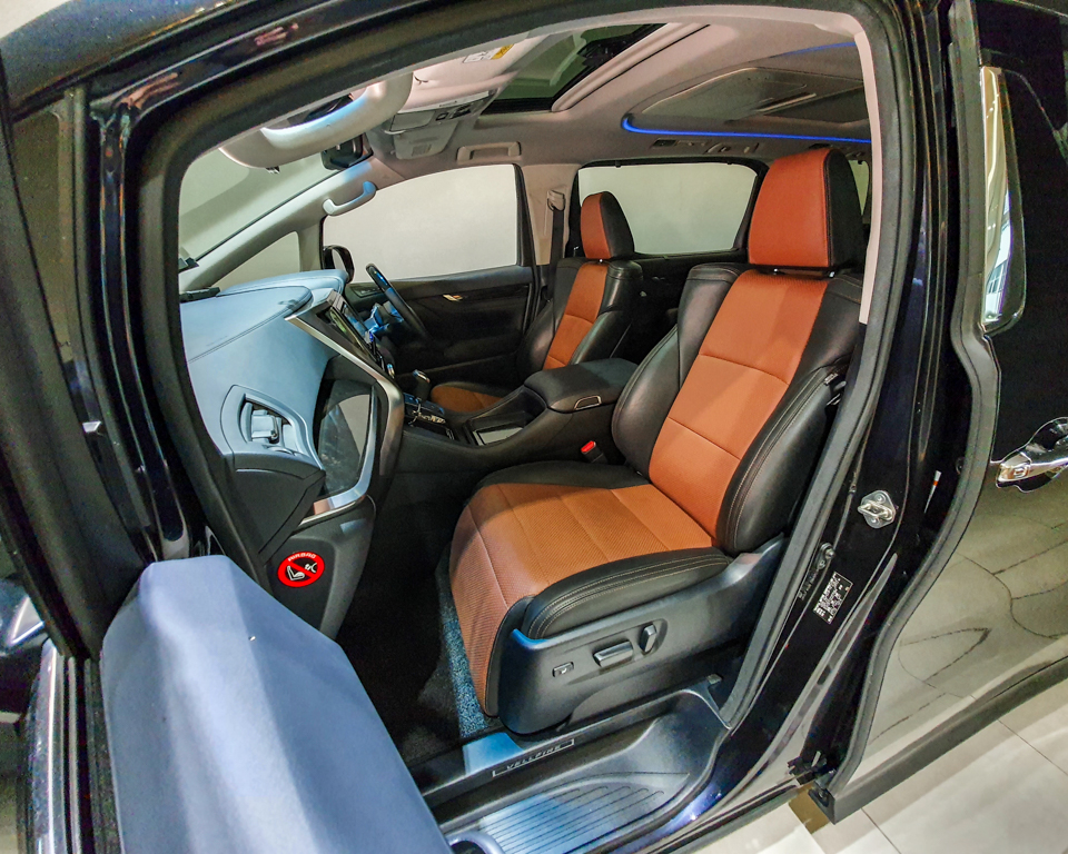 2015 Toyota Vellfire 2.5A Z G-Edition Moonroof - Front Passenger Seat