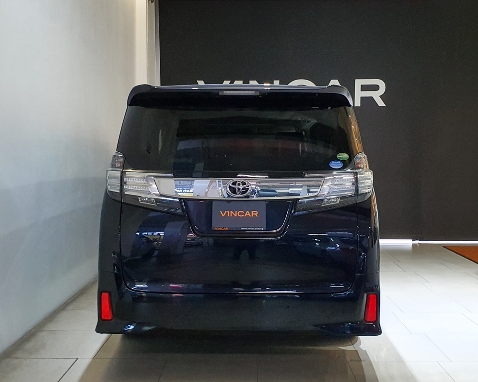 2015 Toyota Vellfire 2.5A Z G-Edition Moonroof - Rear Direct