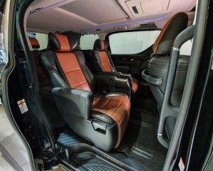 2015 Toyota Vellfire 2.5A Z G-Edition Moonroof - Rear Passenger Seat