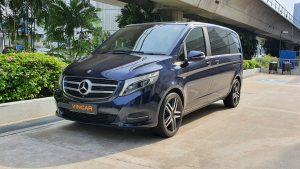 2016 Mercedes-Benz V-Class V250 BlueTec - Front Angle