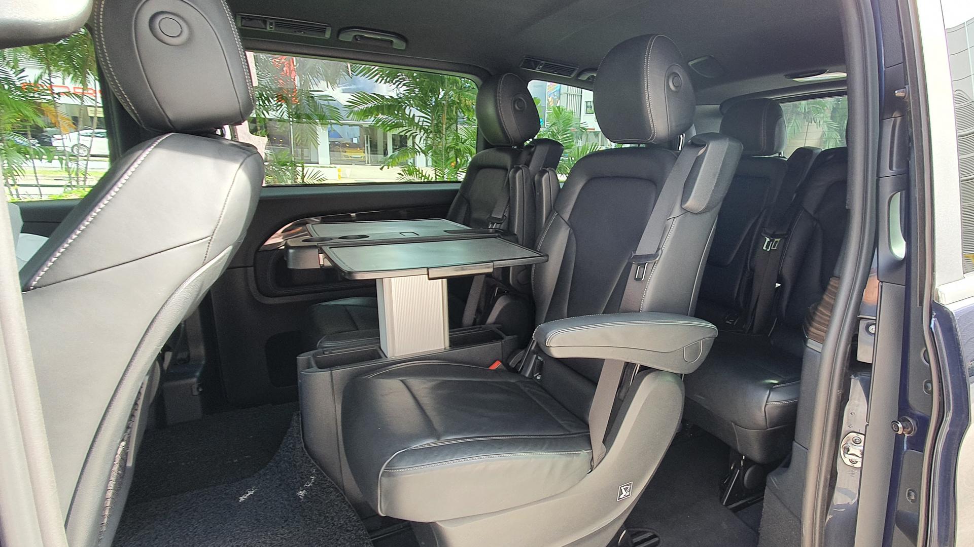 2016 Mercedes-Benz V-Class V250 BlueTec - Rear Seats