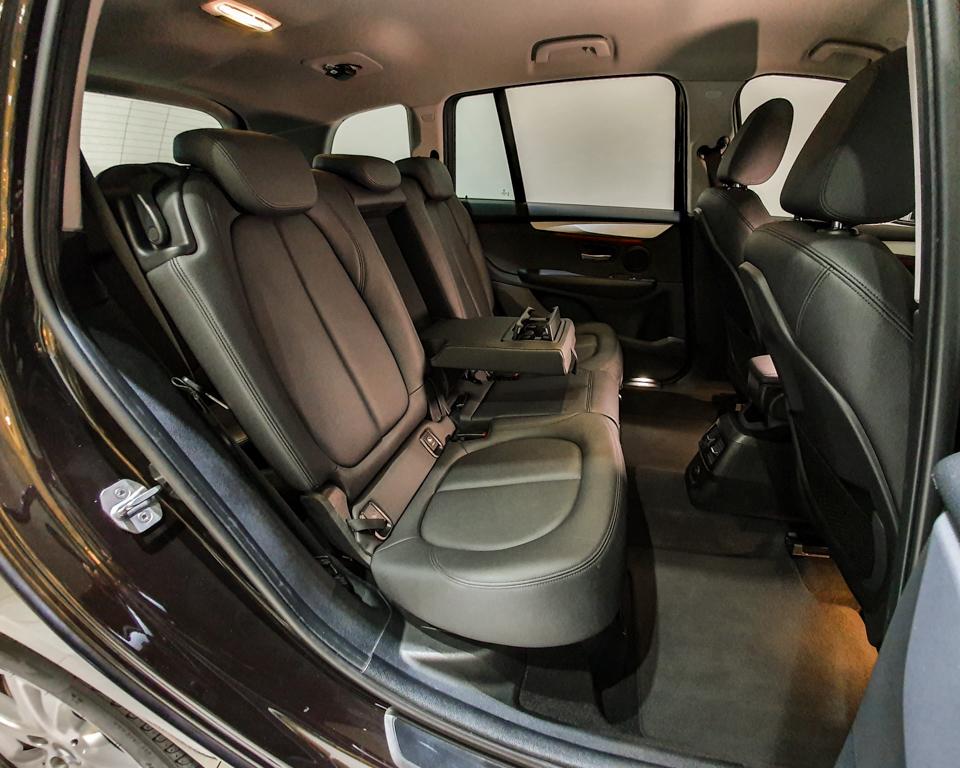 2017 BMW 2 Series 216i Gran Tourer - Rear Seat