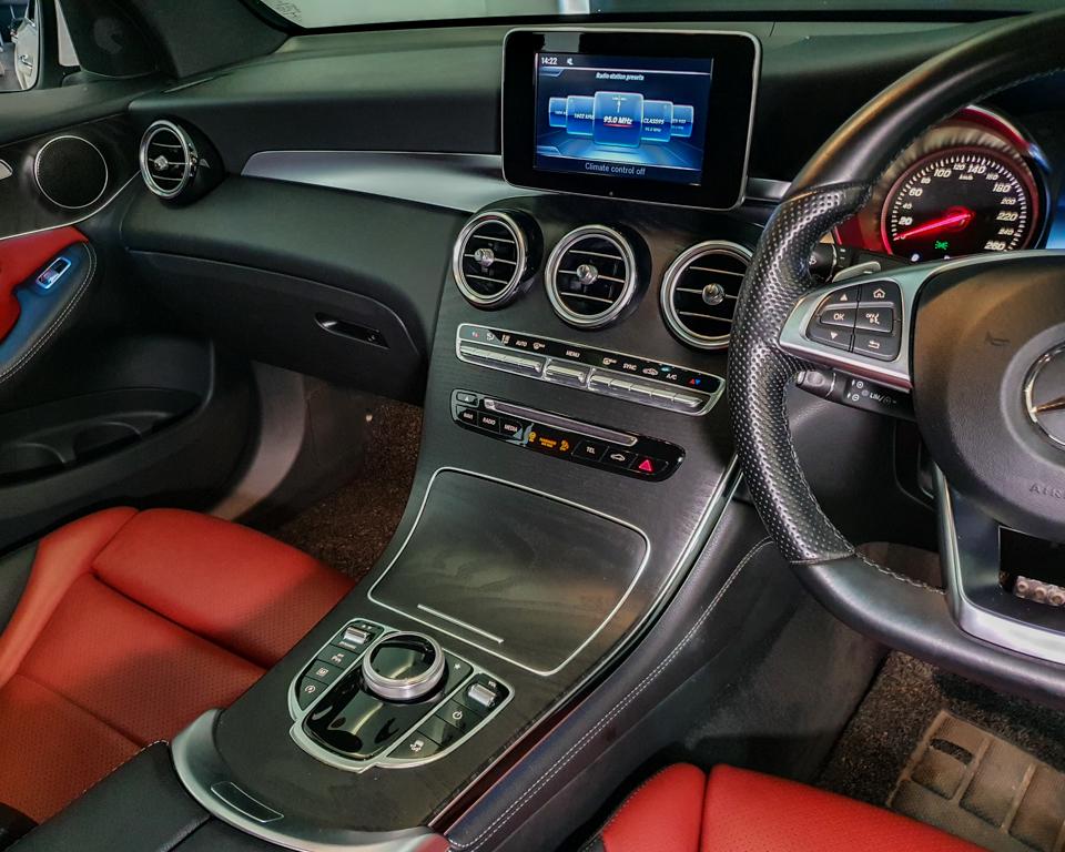 2018 Mercedes-Benz GLC-Class GLC250 Coupe AMG Line 4MATIC - Centre Console