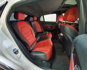 2018 Mercedes-Benz GLC-Class GLC250 Coupe AMG Line 4MATIC - Rear Seat