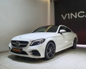 2019 Mercedes-Benz C-Class C200 Coupe Mild Hybrid AMG Line - Front Angle